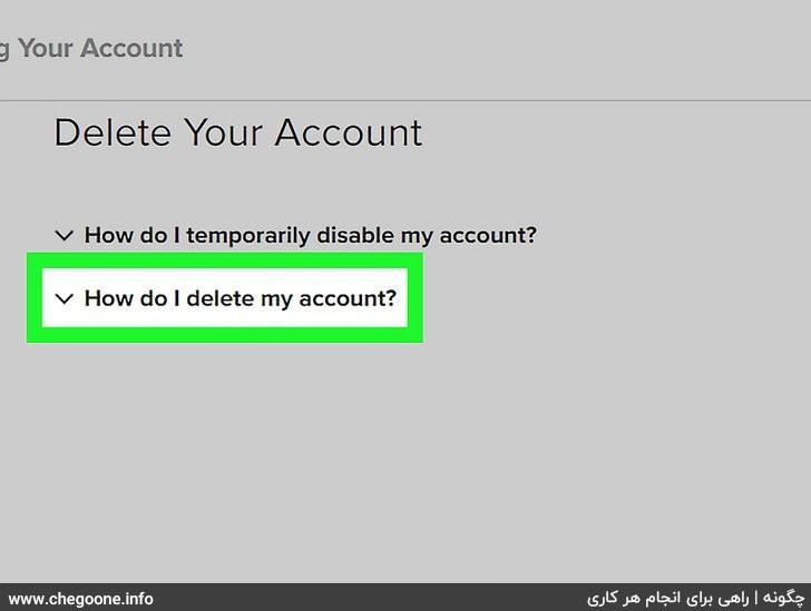 چگونه اکانت اینستاگرام خود را به طور کامل حذف کنیم