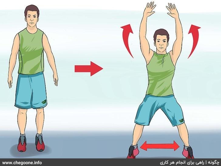 چگونه ورزش کنیم (بدنی، هوازی، یوگا و...)