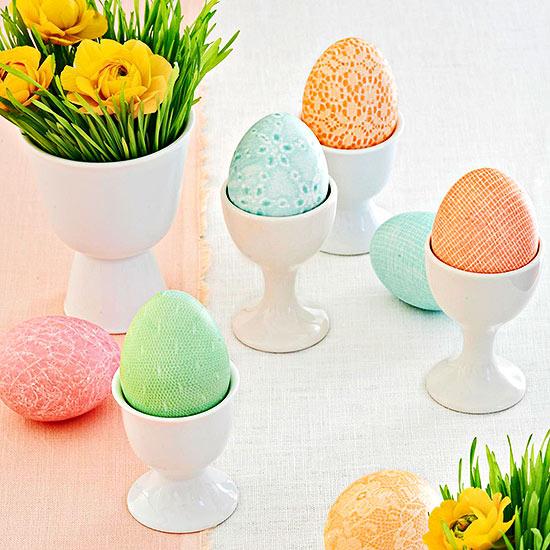 چگونه تخم مرغ عید را به 12 روش زیبا تزئین کنیم