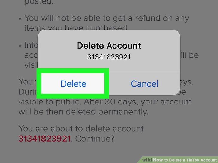 چگونه اکانت تیک تاک Tik Tok خود را به طور کامل حذف کنیم