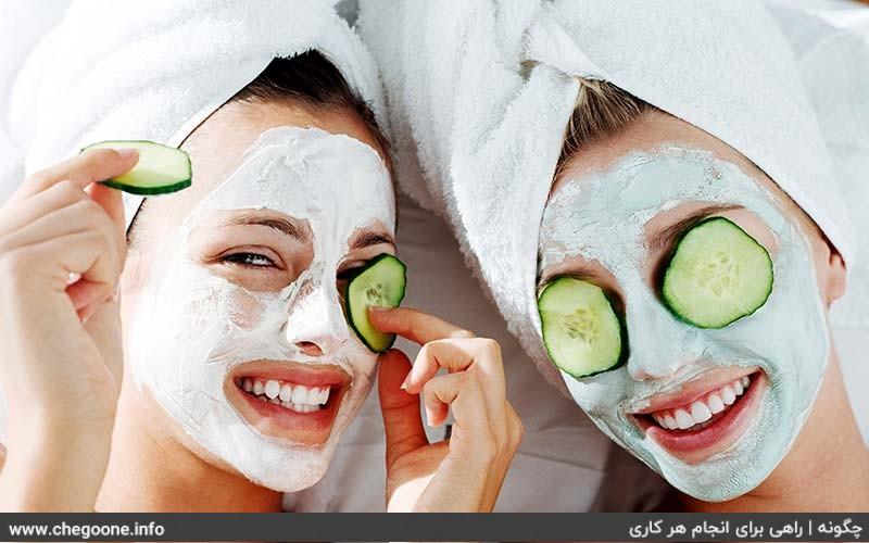 چگونه ماسک خانگی برای صورت تهیه کنیم