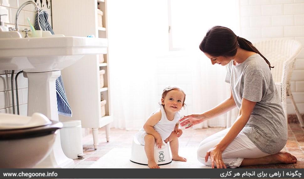 چگونه کودک خود را از پوشک بگیریم