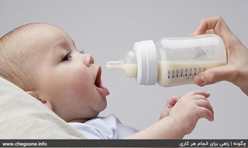 چگونه کودک را از شیر بگیریم
