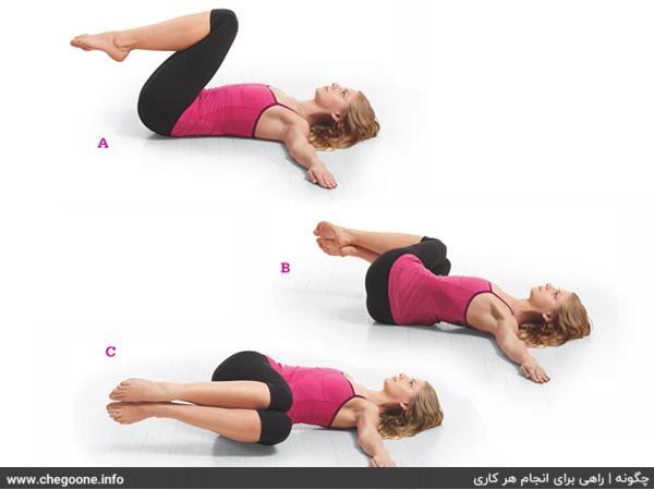 چگونه عضلات شکم را خوش فرم کنیم (در بانوان)