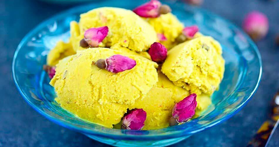 چگونه بستنی سنتی خوشمزه درست کنیم