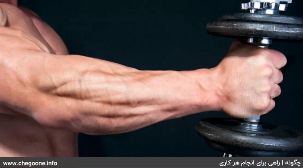 چگونه عضلات مچ و ساعد زیبا و حجیم داشته باشیم
