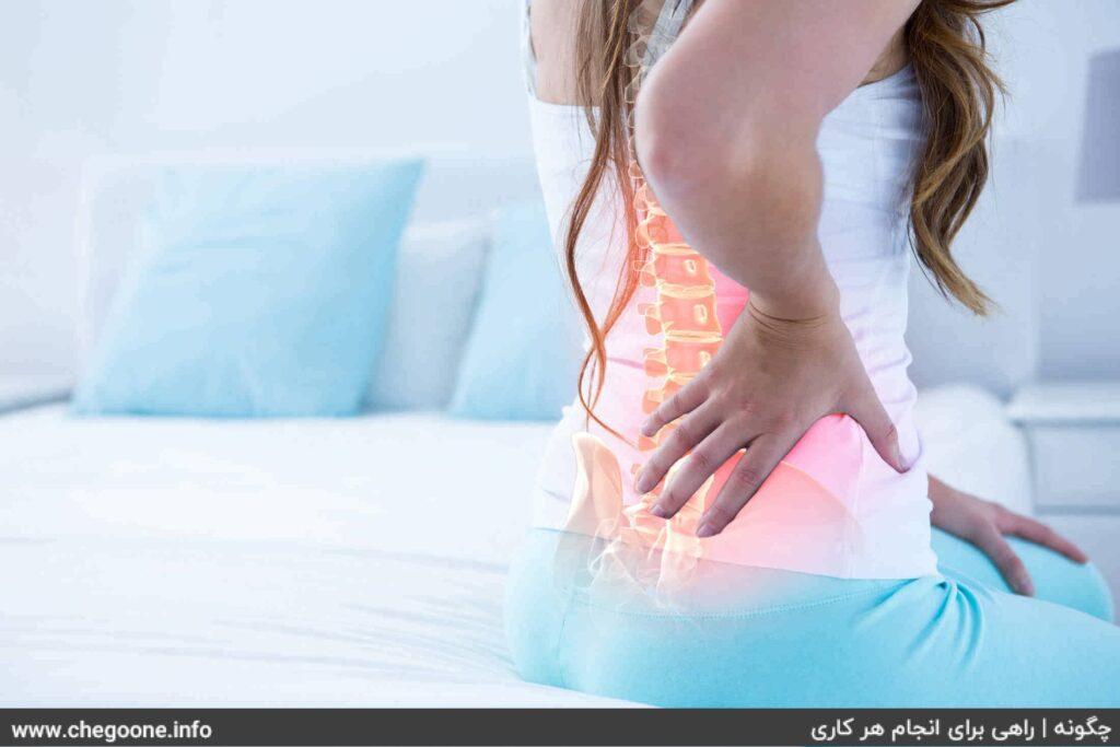 چگونه گودی کمر را درمان کنیم