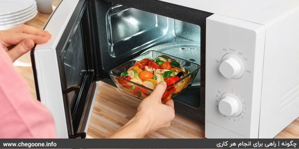 چگونه علت گرم نشدن غذا در ماکروفر را شناسایی و رفع کنیم
